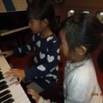ピアノ・レッスン <良きライバル>