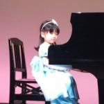 ピアノコンサート 3歳