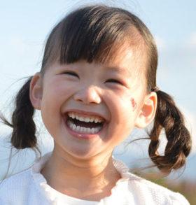 笑顔でレッスン